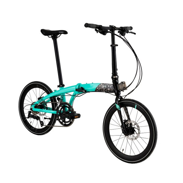 Element Ecosmo Z9 Bike For Hope (Side view)