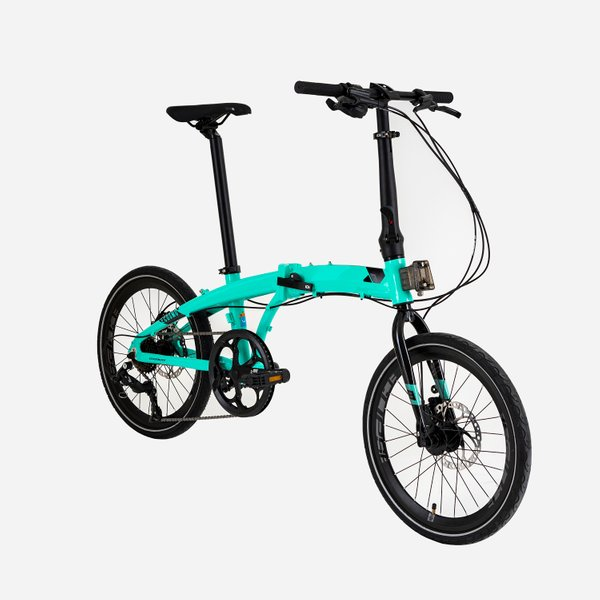 Element Ecosmo 8 Speed X Blibli (Turquoise) (Side view)