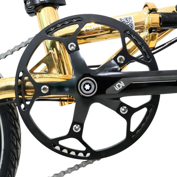 Element Troy 10SP Gold Chrome (Chain ring)