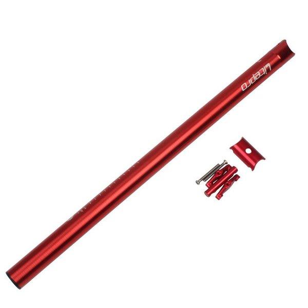 LITEPRO SEATPOST A61 33.9MMX600MM (RED)