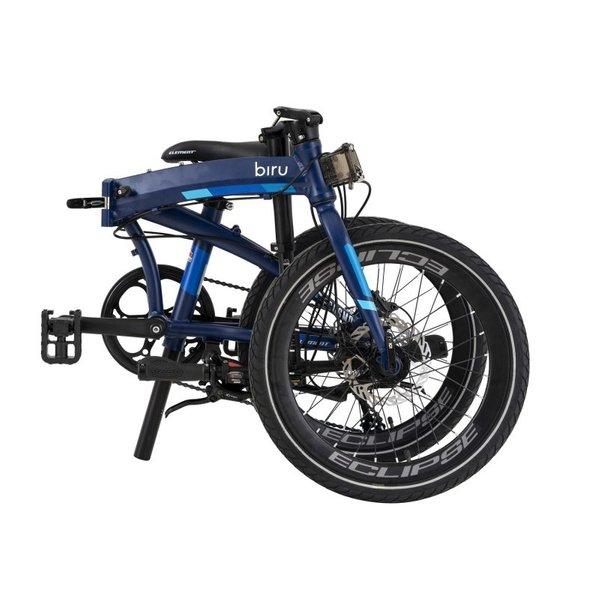 Element Ecosmo 8 Speed Biru (Blue) (Folded)